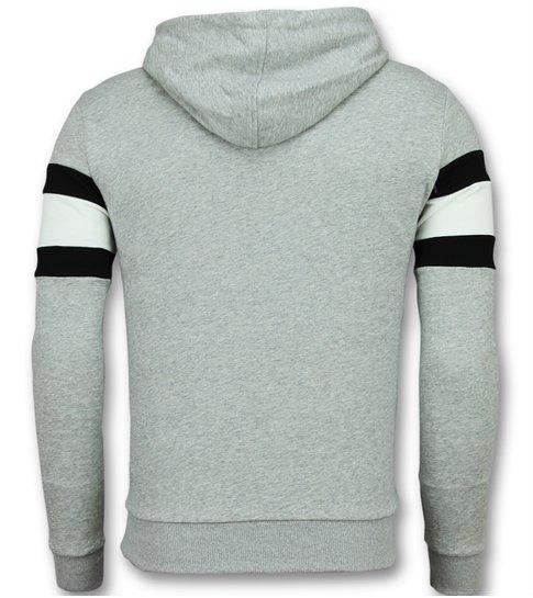 Enos Sweater met Capuchon Heren - Hoodie Mannen Sale - Grijs