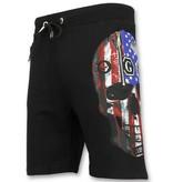 Golden Gate Amerikaanse Vlag Kleding  - Trainingspakken Heren Sale - F575 - Zwart