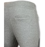 ENOS Trainingsbroek Heren -  Mannen Sweatpants   Color Skull  - Grijs
