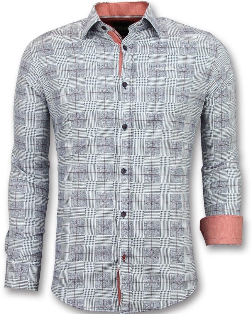 Mannen Blouse Of Overhemd.Heren Overhemden Lange Mouw Italiaanse Blouse Mannen Styleitaly Nl