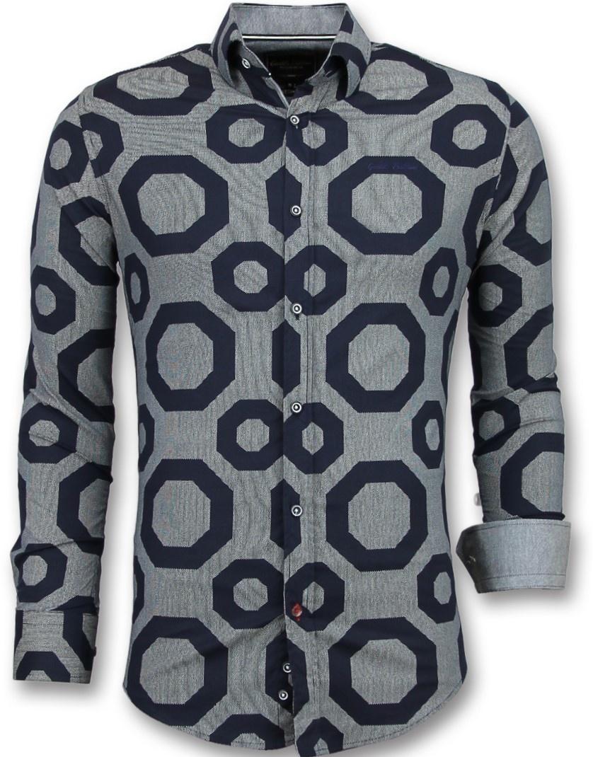 Blouse Of Overhemd.Business Overhemden Heren Blouse Slim Fit Nieuw Styleitaly Nl