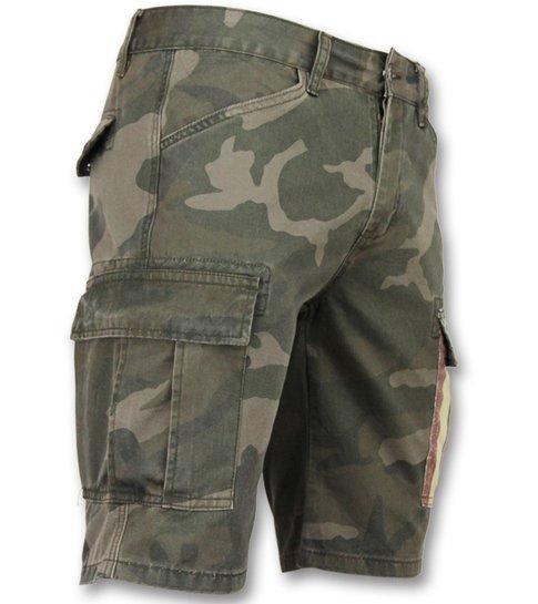 Heren Camouflage Korte Broek.Camouflage Korte Broek Mannen Goedkope Bermuda Broeken