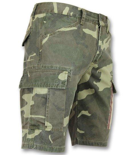 Camouflage Korte Broek Dames.Heren Camouflage Korte Broek Bermuda Heren Online Styleitaly Nl