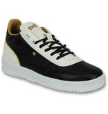 Cash Money Schoenen Heren Online - Mannen Sneaker Luxury Black White - CMS72 - Zwart
