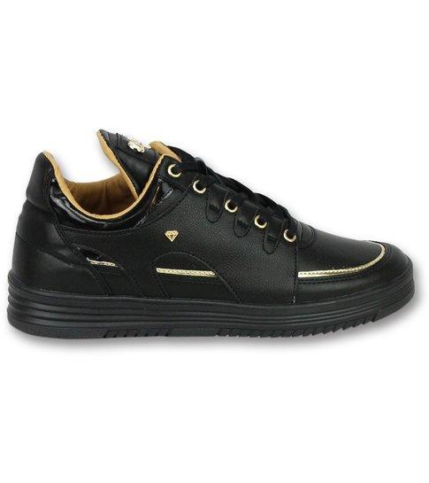Cash Money Sneakers Heren Schoenen - Luxury Black - CMS71 - Zwart