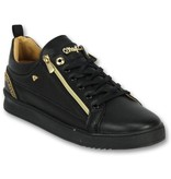 Cash Money Sneaker Sale Mannen - Heren Schoenen Cesar Full Black - CMP97 - Zwart