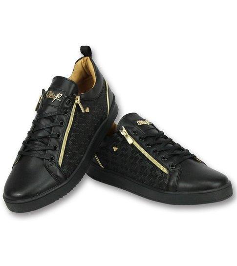 Cash Money Zwarte Sneakers Mannen - Schoenen Heren  Maya Full Black - CMP97