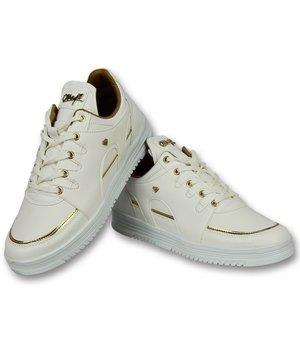 7282e30d97c Cash Money Hoge Sneakers Online - Mannen Sneaker Luxury White - CMS71 - Wit