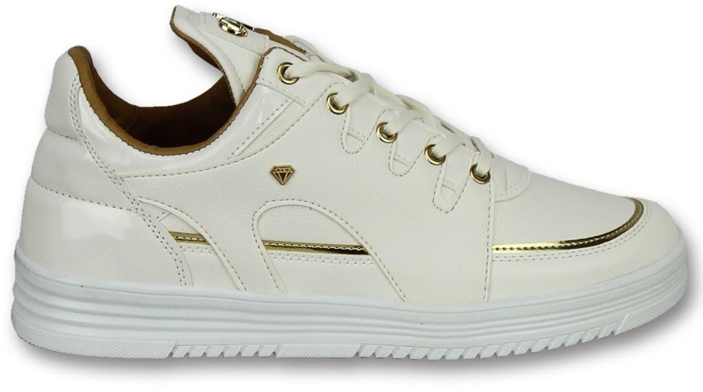 ac900409dee ... Cash Money Hoge Sneakers Online - Mannen Sneaker Luxury White - CMS71 -  Wit ...