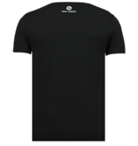 Local Fanatic Tupac Shakur T shirt Heren - Thug life 2PAC  - Zwart