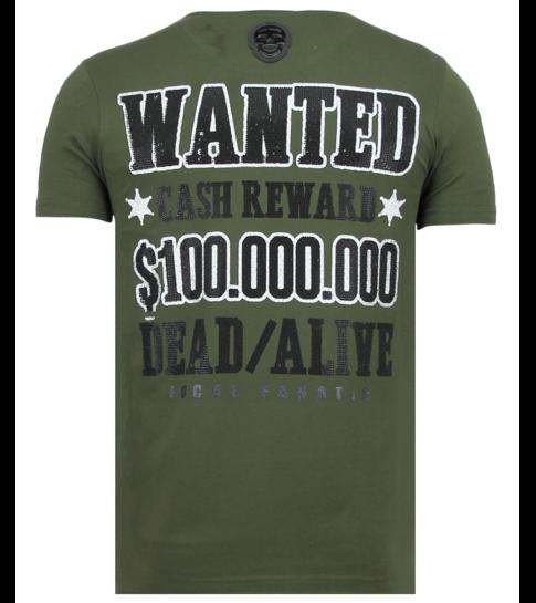 Local Fanatic Beagle Boys - Grappige T shirt Mannen - 6319G - Groen
