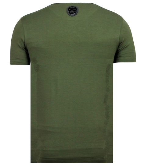 Local Fanatic ICONS - Grappige T shirt Heren - 6361G - Groen