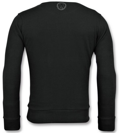 Local Fanatic ICONS - Leuke Sweater Mannen - 6349Z - Zwart