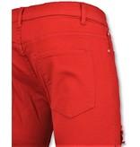 New Stone Rode biker skinny jeans heren - Mannen broek- 3017-10