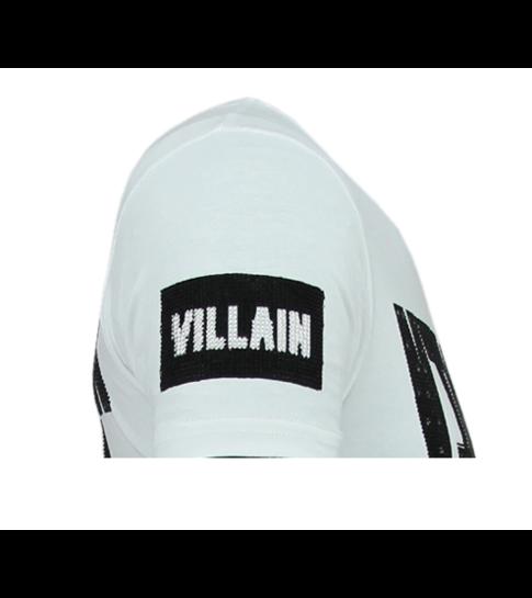 Local Fanatic Villain Duck - Strakke T shirt Heren - 6325W - Wit
