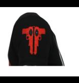 Local Fanatic Psycho Mouse - Bedrukte T shirt Mannen - 6321Z - Zwart