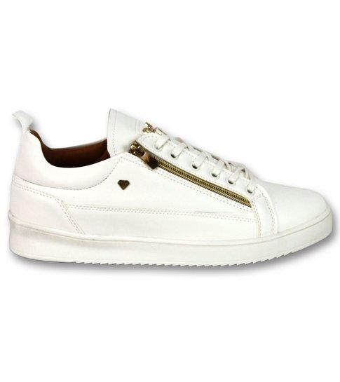 Cash Money Heren Sneaker CMP White Gold- CMS97 - White