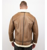 Tony Backer Lammy Coat - Shearling jacket - Bruin
