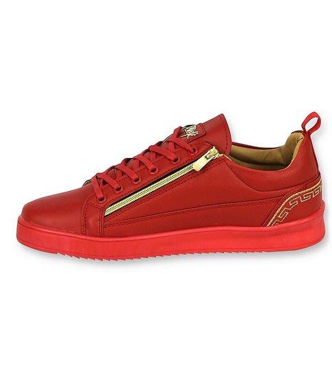 Cash Money  Heren Sneakers - ACTIE SAMPLE SALE - Cesar Red Gold - CMP97