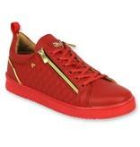 Cash Money Heren Sneakers - ACTIE SAMPLE SALE - Jailor Red Gold - CMS97