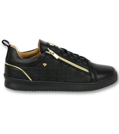Cash Money Sneakers Mannen - ACTIE SAMPLE SALE - Maya Full Black - CMP97