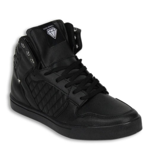 Cash Money Heren Schoenen - ACTIE SAMPLE SALE - Jailor Full Black Pu