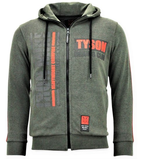 Local Fanatic Exclusieve Trainingsvest Mannen - Tyson Boxing Iron Mike - Groen