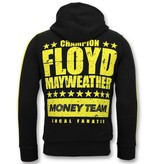 Local Fanatic Exclusieve Trainingspak Heren - TMT Floyd Mayweather Set - Zwart