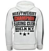 Local Fanatic Exclusieve Heren Joggingpak  - Iron Mike Tyson Boxing - Wit