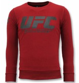 Local Fanatic Exclusieve Sweater Heren - UFC Championship Trui - Bordeaux