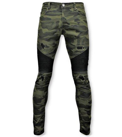 TRUE RISE Army Stretch Jeans - Mannen Spijkerbroek - 3020 - Groen