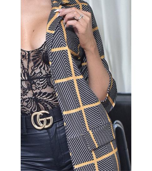 CATWALK Valerie Longline Jacket - Dames - Grijs