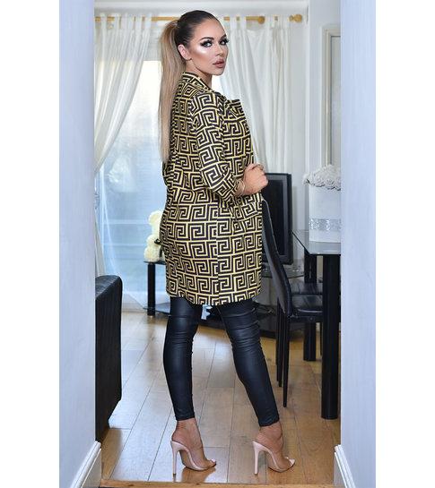 CATWALK Valerie Longline Jacket - Dames - Bruin