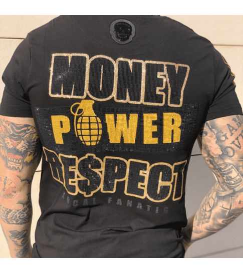 Local Fanatic Exclusief Heren T-shirt  - Cosa Nostra Mafioso - Zwart