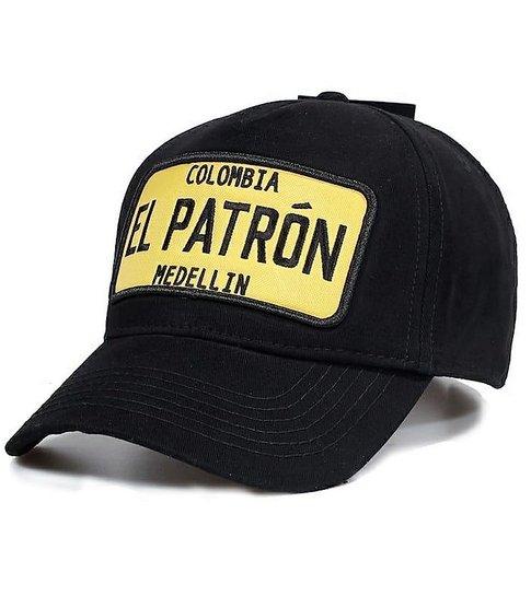 Enos Baseball Cap Heren - El Patron Geel - Zwart