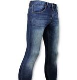 TRUE RISE Classic Basic Spijkerbroek Heren - D - Blauw