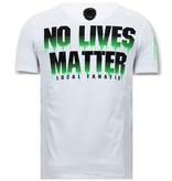 LF Luxe Heren T shirt - Predator Hunter - Wit