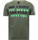 LF Stoere Heren T-shirt - Predator Hunter - Groen