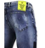 TRUE RISE Exclusive Jeans - Skinny Fit Broek - A18B - Blauw