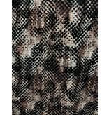 TONY BACKER Luxe Heren Slim Fit Blouse -  Digitale Print - 3060 - Bruin