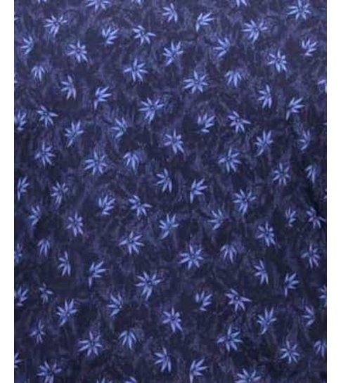 TONY BACKER Getailleerde Heren Overhemden - 3074 - Navy