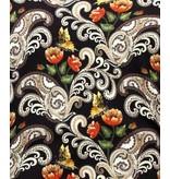 TONY BACKER Luxe Paisley Overhemd Heren - 3073 - Bruin/ Zwart