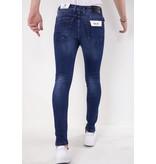 TRUE RISE Heren Jeans Stretch - Slim Fit -5303 - Blauw