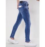TRUE RISE Nette Stretch Heren Jeans - Slim Fit - 5307 - Blauw