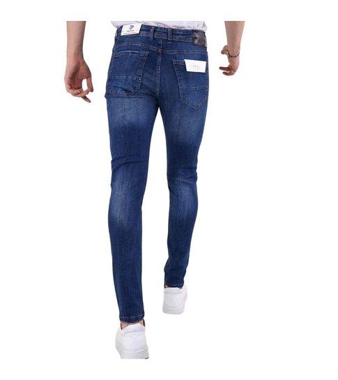 TRUE RISE Nette Jeans Heren met Stretch - 5304 - Blauw