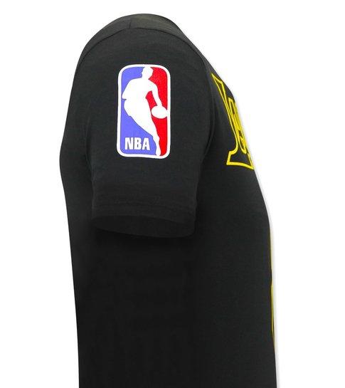 Local Fanatic Heren T-shirt Lakers - Bryant -Zwart
