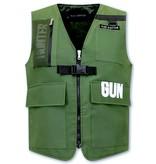 TONY BACKER Gun Hunter Heren Vest - Groen