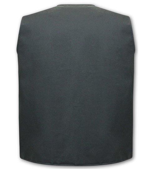 TONY BACKER Gun Hunter Heren Vest -Zwart