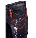 Local Fanatic Exclusive Jeans met Scheuren Heren  - 1012 - Zwart