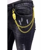 Local Fanatic Exclusive Slim fit Jeans Stretch Heren - 1003 - Zwart